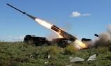 Nga khoe sức mạnh của lực lượng tên lửa và pháo binh