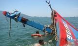 Tàu cá Quảng Ngãi bị tàu Trung Quốc đâm chìm gần Hoàng Sa