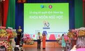 """Sinh viên Ngôn ngữ học, trường ĐH KHXH&NV (ĐHQG TP. HCM) có """"nhà mới""""."""