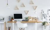 Vài chiêu đơn giản mà hữu dụng hô biến góc làm việc của bạn đẹp như trên Pinterest