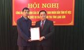 Bổ nhiệm Chánh thanh tra tỉnh Lạng Sơn