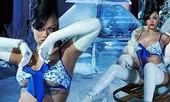 Rihanna bốc lửa với nội y Giáng sinh