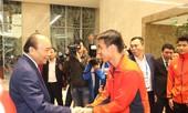 Thủ tướng nói về lý do gặp mặt 2 đội tuyển bóng đá Việt Nam trước