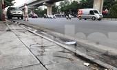 Hà Nội: Vỉa hè lát đá 'trăm tỷ' đường Nguyễn Trãi hư hỏng, vỡ vụn
