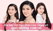Trước thềm Chung kết, nhìn lại Hoa hậu Việt Nam 2020 qua những con số