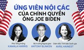 Hé lộ hàng loạt đề cử cho nội các chính quyền Joe Biden