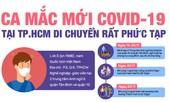 Lịch trình di chuyển phức tạp của ca mắc mới COVID-19 tại TP.HCM