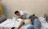 Học sinh gãy chân ở trường Nam Trung Yên bị thương tật 32%