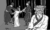 Vị vua nào viết chiếu xin thôi làm vua, nhưng vẫn bị ép uống thuốc độc mà chết?