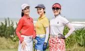 Ngọc Hân, Jennifer Phạm đọ dáng quyến rũ khi thi đấu trên sân golf tại Đà Nẵng