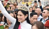 Hoa hậu Đỗ Thị Hà truyền cảm hứng cho giới trẻ ở quê nhà Thanh Hoá