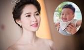 Hoa hậu Thu Thảo lần đầu tiên khoe cận mặt quý tử cực đáng yêu khiến sao Việt 'lụi tim'