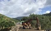 Đổ hơn 80.000 m3 đá để nối lại quốc lộ 'đứt làm đôi' ở Đắk Lắk