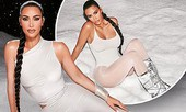 'Kim siêu vòng 3' khoe đường cong nóng bỏng với trang phục ôm sát