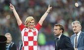 Nữ Tổng thống Croatia nổi tiếng nhờ World Cup