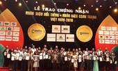 Vietnam Airlines lọt Top 10 nhãn hiệu nổi tiếng nhất Việt Nam