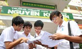 Công bố sáu môn thi tốt nghiệp THPT