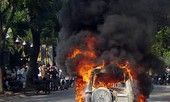 Làm rõ nghi vấn xăng gây cháy xe