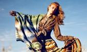 Thiếu nữ Bohemian rạng ngời trong nắng và gió