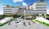 Kiến trúc độc đáo của bệnh viện thông minh hàng đầu miền Bắc