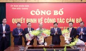 Tỉnh Bắc Giang bổ nhiệm ba giám đốc sở