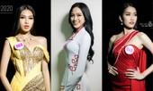 Cận cảnh nhan sắc Hoa hậu Đỗ Thị Hà và hai Á hậu trong hậu trường đêm Chung kết