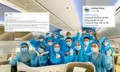 Hàng loạt tiếp viên của Vietnam Airlines đăng hashtag xin lỗi, mong được đối xử văn minh