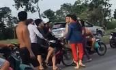 Bắt khẩn cấp hai đối tượng đánh CSGT khi bị dừng xe