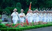 Xúc động lễ thượng cờ rủ Quốc tang nguyên Tổng Bí thư Lê Khả Phiêu