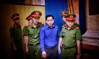 Vũ 'nhôm' đã 'dắt tay hàng loạt người ở sài Gòn vào lao lý. Ảnh: Tân Châu