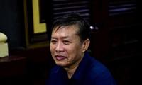 Cưu trung tá Nguyễn Hồng Ánh tại tòa. Ảnh: Tân Châu
