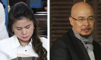 Bà Thảo và ông Vũ cùng kháng cáo bản án sơ thẩm. Ảnh: Tân Châu