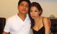 Vợ chồng bác sĩ Chiêm Quốc Thái thời còn mặn nồng.