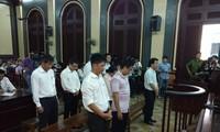 Ngày 24/9 tới các bị can này tiếp tục hầu tòa trong phiên xử dự kiến 7 ngày. Ảnh: Tân Châu