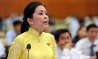 Nguyên Giám đốc Sở Tài chính TPHCM bà Đào Thị Hương Lan trước khi bị truy nã