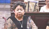 Bà Hứa Thị Phấn vừa bị tuyên 20 năm tù trong phiên tòa xử vắng mặt bà chiều nay 22/11.
