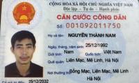 Nguyễn Thành Nam đang bỏ trốn khỏi khu cách ly tập trung khi chưa xét nghiệm SARS-COV-2.