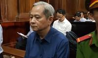 Cựu Phó Chủ tịch UBND TPHCM Nguyễn Hữu Tín bị án tù vì giao 'đất vàng' cho Vũ 'nhôm'. Ảnh: Tân Châu