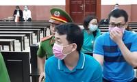 Cựu Chủ tịch VN Pharma Nguyễn Minh Hùng tại phiên tòa phúc thẩm. Ảnh: Tân Châu