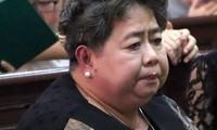 Bà Hứa Thị Phấn tại phiên phúc thẩm này xin giảm nhẹ hình phạt
