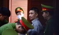 Trùm ma túy - bị cáo Văn Kính Dương sáng 17/7. Ảnh: Tân Châu