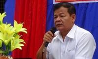 HĐND tỉnh Tây Nihh vừa miễn nhiệm chức danh Chủ tịch UBND tỉnh Tây Ninh với ông Phạm Văn Tân.