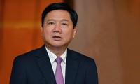 Ông Đinh La Thăng đang vừa bị đề nghị truy tố là chủ mưu vụ cao tốc TPHCM - Trung Lương.