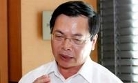 Cựu Bộ trưởng Công Thương Vũ Huy Hoàng