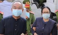 Hình ảnh phiên toà xét xử đại gia Bạch Diệp và ông Nguyễn Thành Tài tại TAND TP HCM