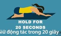 Yoga cho giấc ngủ ngon, thư giãn