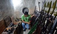 Hầm bí mật cất giấu hơn 2 tấn vũ khí cho Biệt động Sài Gòn