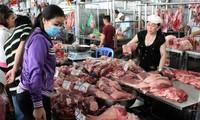 Giật mình thịt lợn phiên chợ chiều