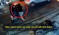VIDEO: Dàn cảnh trộm xe máy và cái kết thê thảm