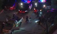 Màn rượt đuổi thót tim bắt nghi phạm trộm xe có vũ trang